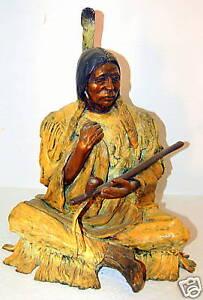 Marie-Barbera-signed-Bronze-Sculpture-034-Old-Warrior-034
