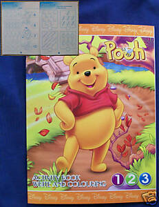DISNEY-WINNIE-THE-POOH-EDUCATIONAL-ACTIVITY-BOOK-NEW