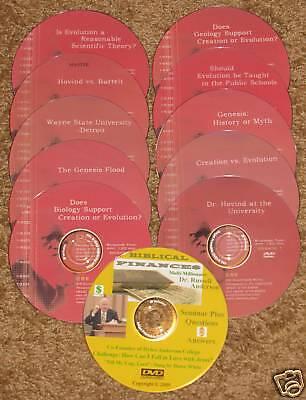 Finance+ FREE Kent Hovind Debate DVD 10 Volume Set #1