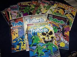 TROLLORDS-lot-of-18-Comics-Comico-Apple-amp-Tru-Studios