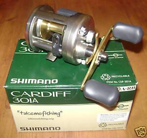 Shimano-New-Cardiff-Baitcasting-Reel-Lh-CDF301A-301