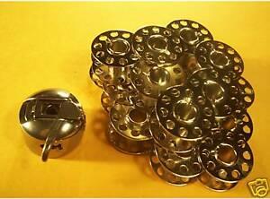 SINGER-17-23-Sewing-Machine-1-Bobbin-Case-6-Bobbins