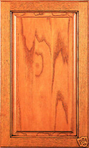 Kitchen cabinet doors unfinished raised panel oak door for Made to order kitchen cabinets
