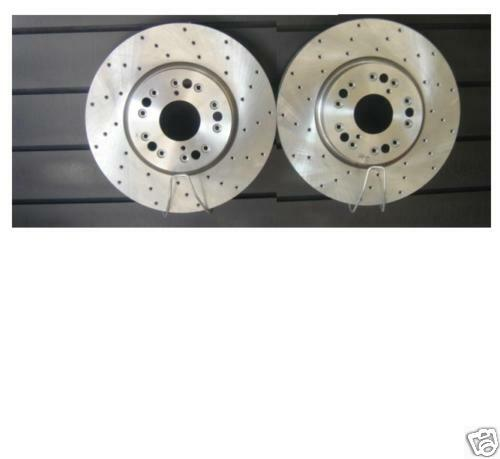 FOR LEXUS IS200 1999-2005  DRILLED FRONT  BRAKE DISCS PAIR