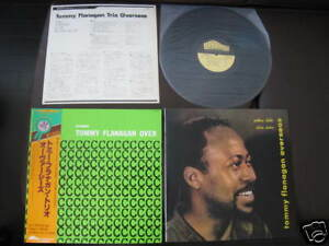 Tommy Flanagan Overseas Japan Lp With Promo Only Sleeve Ebay