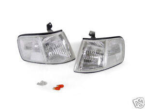 90 91 HONDA CRX CR-X EF Si CLEAR CORNER LIGHTS + BULBS