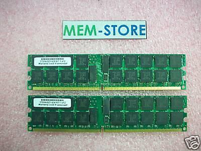 375004-b21 4gb(2x2gb) Pc2-3200 Memory For Hp Proliant