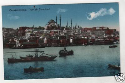TURKEY - CONSTANTINOPLE, VUE DE STAMBOUL Postcard *