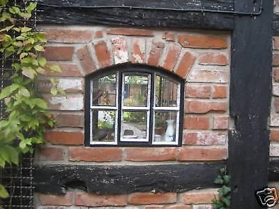 Sonderangebot !!!  Fenster mit Tür + Bogen  Gussfenster  Stallfenster  Rost