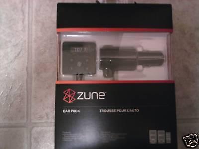 Microsoft H9a-00001 Zune Car Pack With Fm Transmitter