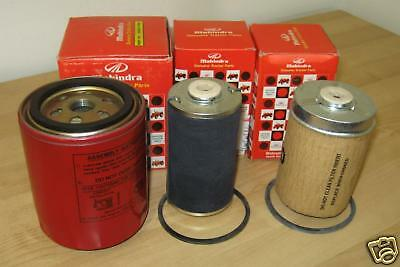 Mahindra Tractor Economy Pack Of 3 Filters -7147.2448.1778