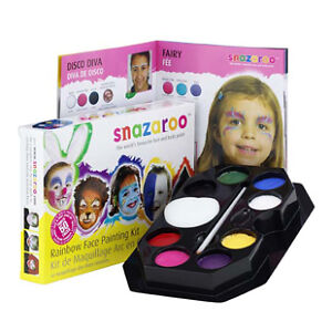 Snazaroo Rainbow Face Painting Kit 50+ faces art paint
