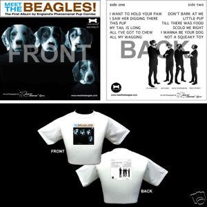 Beatles-Meet-The-Beatles-T-Shirt-Beagle-Dog-Breed