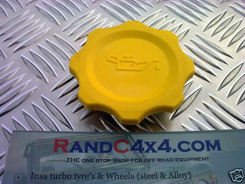 Land Rover DISCOVERY 300 200 tdi oil filler cap ERR5041