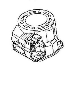 NEW OEM GENUINE 2001 01 HONDA CR250R CR250 CR 250 CYLINDER