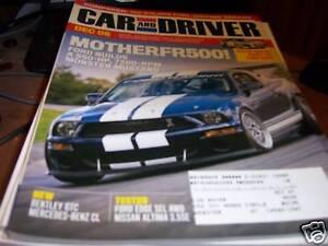 Car-Driver-12-2006-Motherfr500-Monster-Mustang