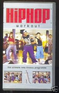 HIPHOP-WORKOUT-EXERCISE-VIDEO-PAL-VHS-UK
