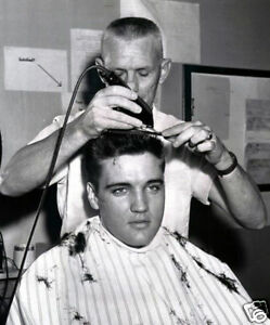 Elvis-Presley-Army-Barber-Shop-Haircut-10X8-Photo
