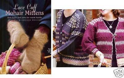 Spin-off magazine winter 2003: lace cuff mohair mittens
