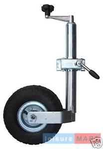 Trailer-Caravan-48mm-Med-Duty-Pneumatic-Jockey-Wheel