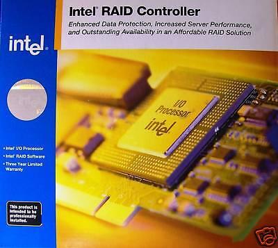 Intel Srczcr Low Profile U160/u320 Scsi Raid Controller