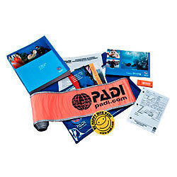 PADI Advanced Open Water Crewpack DSMB whistle
