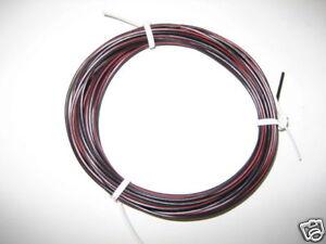 kfz kabel litze leitung flry 1 5mm 10m schwarz rot fahrzeugleitung ebay. Black Bedroom Furniture Sets. Home Design Ideas