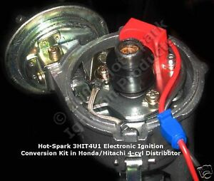 Electronic-Ignition-Conversion-Kit-for-4-cyl-Hitachi-Points-based-Distributor