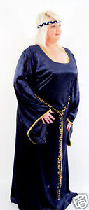 MEDIEVAL-LARP-SCA-HISTORICAL-WEDDING-FANCY-DRESS-in-all-plus-sizes-colours