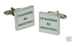 I-039-d-rather-be-Shooting-Cufflinks-Gift-Box-Present-Idea