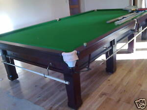 Full size riley slate bed snooker table 12ft for 12ft snooker table for sale uk