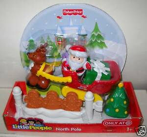 NRFB Fisher Price Target 3 Little People Christmas Playsets
