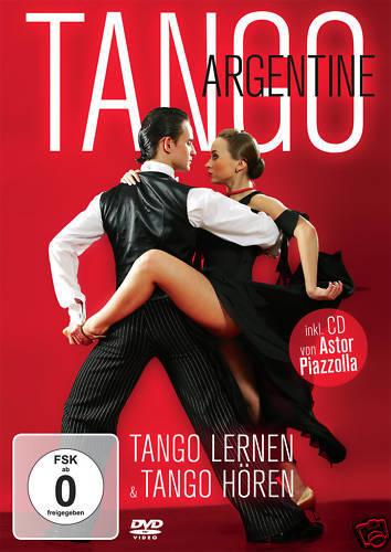 DVD CD Tango Argentine  Tango Lernen und Hören DVD und Bonus CD