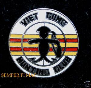 VIET-CONG-HUNTING-HAT-PIN-US-MARINES-ARMY-AIR-FORCE-NAVY-USCG-VIETNAM-VETERAN