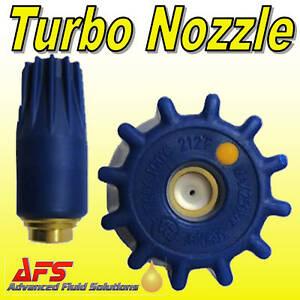 Pressure Washer TURBO Nozzle Jet Wash Steam Cleaner 055 Rotating Dirt Blaster