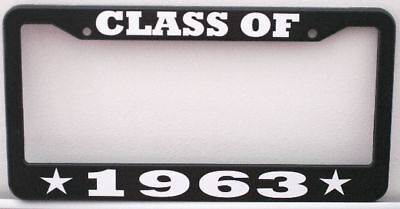 Class Of 1963 License Plate Frame Fits Chevy Ford Mopar