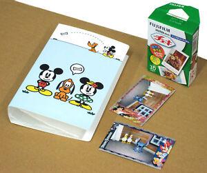 Fuji-Instax-Mini-8-Photo-Album-Disney-Instax-Mickey-120-pics-Album