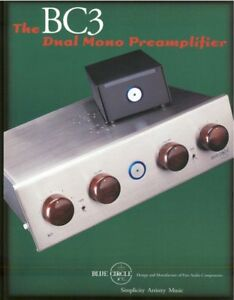 Blue-Circle-BC3-Dual-Mono-Pre-Amplifier-Brochures