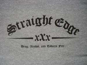 STRAIGHT-EDGE-T-Shirt-xXx-sXe-hardcore-punk-dare