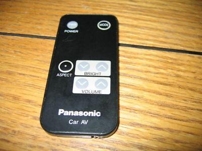 PANASONIC CAR AUDIO VIDEO REMOTE A/V YEFX9992114
