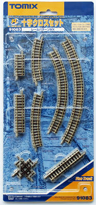 Tomix 91083 Mini Rail Crossing Track Set (N scale)