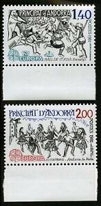 Andorra-French-1981-Scott-286-287-MNH-Set