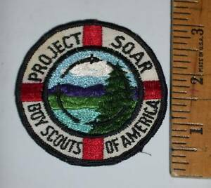 Valley Forge Council Project Soar 1971 BSA Boy Scouts Patch District Camporee