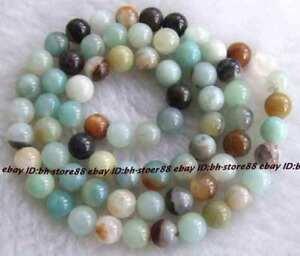 Beautiful-6mm-Natural-Amazonite-Round-Beads-16-039-039