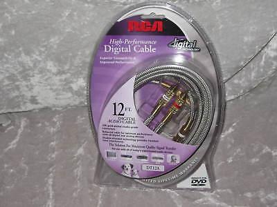 Rca Digital Audio Cable 12 Ft 24k Hdtv Dvd Satellite