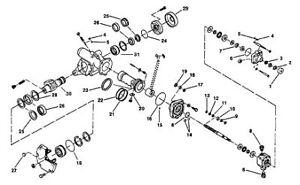 TRW/Ross Steering Gear Box HF64 Master Seal Repair Kit