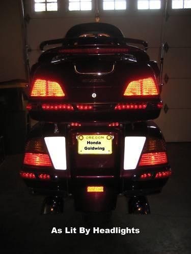 Honda Goldwing Rear Reflective Decals
