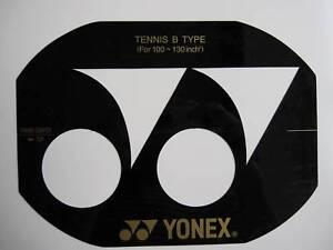Yonex pochoir CARTE TENNIS pour 100 à 130 cm