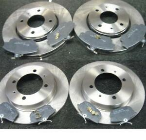 volvo s40 v40 1995 front rear brake discs brake pads ebay. Black Bedroom Furniture Sets. Home Design Ideas