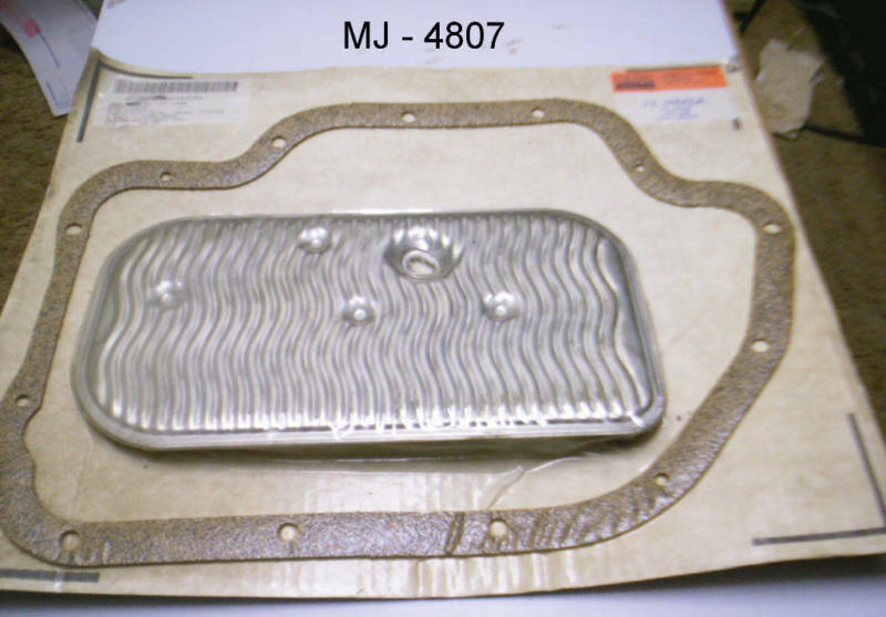 Lempco Automatic Transmission Filter Element Parts Kit (NOS)